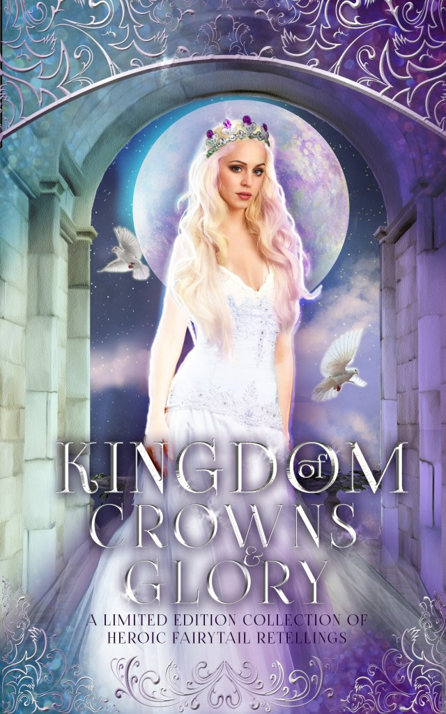 Kingdom of Crowns and Glory, Dress, Woman, Moon, Princess, Crown, Fairy Tales, Retelling