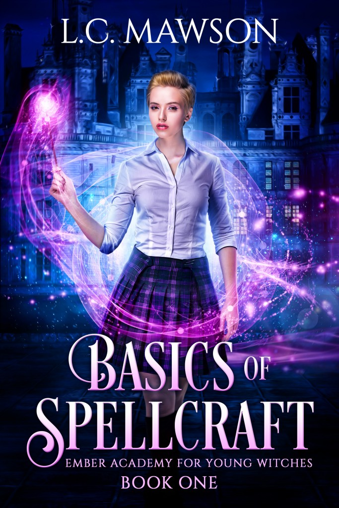 Basics of Spellcraft, Magic, Spells, Castle, Short Hair, Woman, Blouse, Cover, Magic, Young Adult, L.C. Mawson