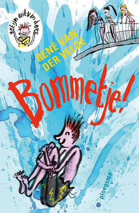 Bommetje, Stijn Uitvinder, Rene van der Velde, Georgien Overwater, Swimming Pool, Bommetje, Girls, Diving Board, Water, Humour, Children's Books, Family
