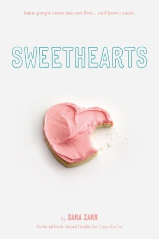 Sweethearts, Sara Zarr, Heart-shaped snack, Young Adult