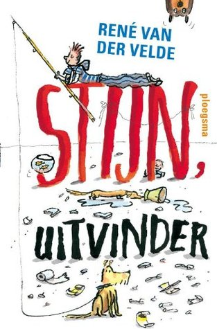 Stijn Uitvinder, Georgien Overwater, Rene van der Velde, Boy, Dog, Fishing Pole, White, Humour, Children's Books