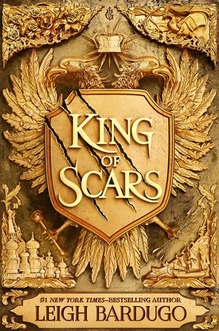 King of Scars, Gold, Birds, Wings, Crown, Leigh Bardugo