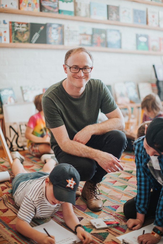 Ben Wood, Author, Kids, Photograph