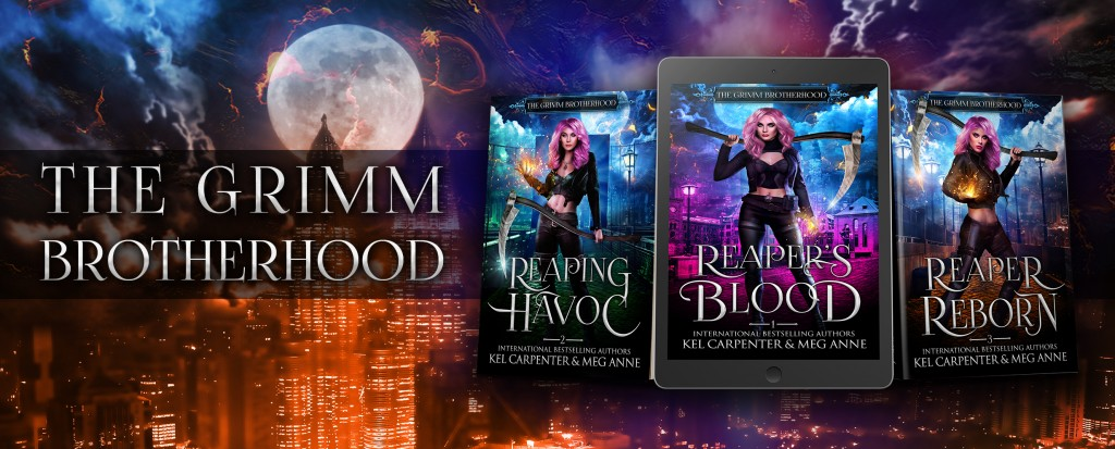 REAPER'S BLOOD, Kel Carpenter, Meg Anne