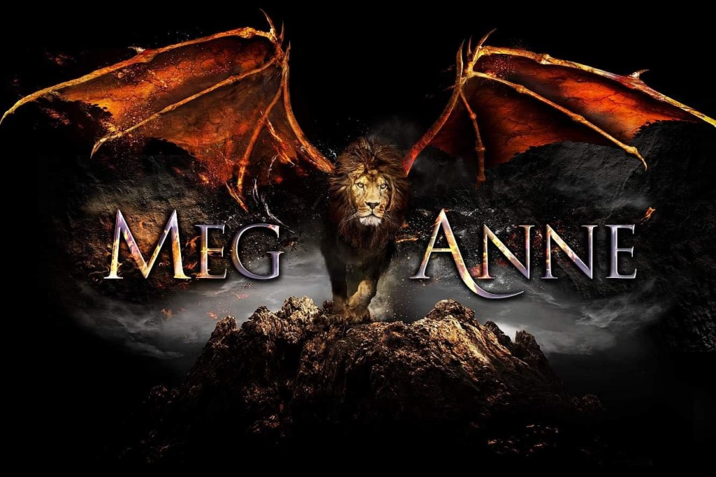 Meg Anne, Author, Dragon, Logo