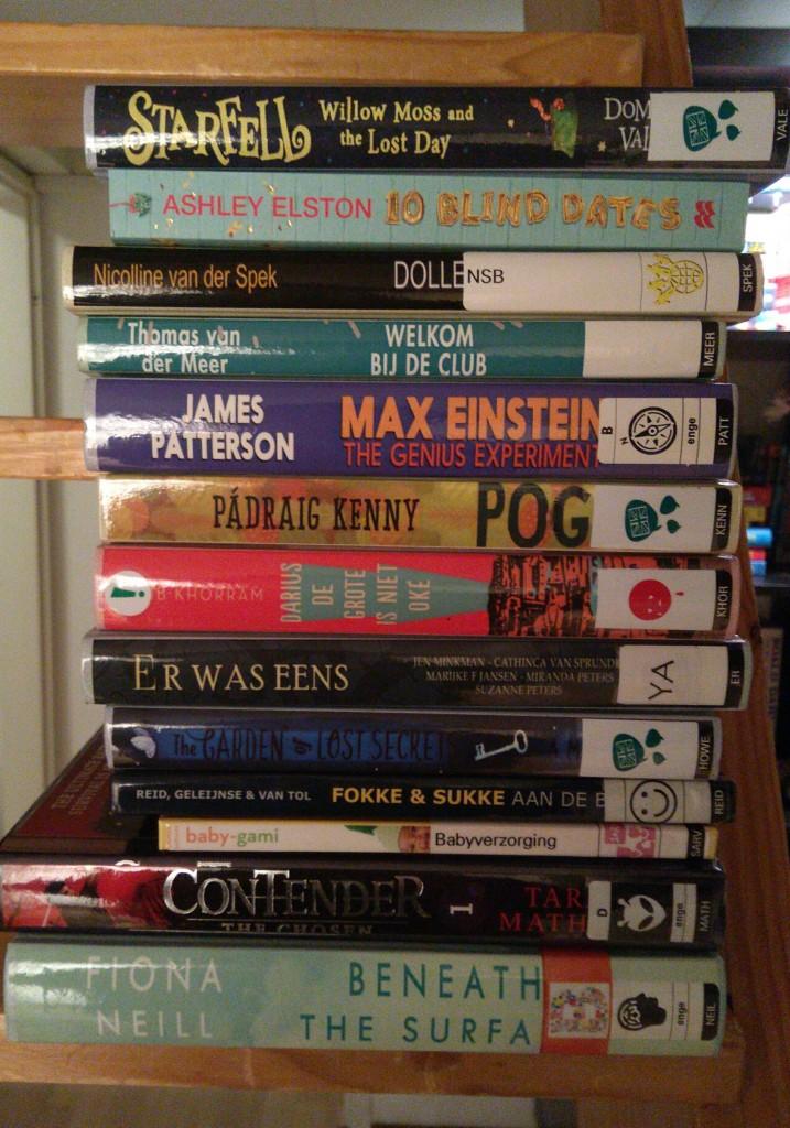 Stack of Books, Reading, TBR