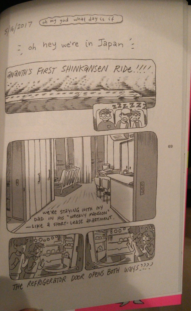 Comic, Travelogue, Yuko Ota, Ananth Hirsch, Travelling, WANDER: A Johnny Wander Travelogue Collection,