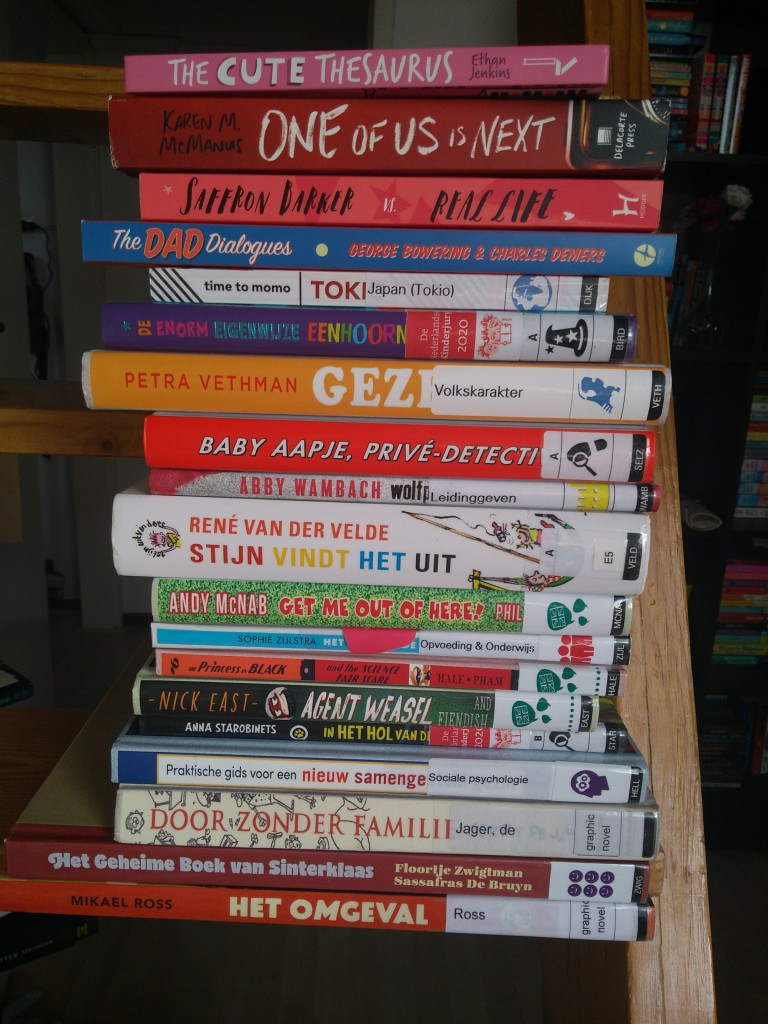 Stack of Books, TBR, Colourful, Books, Reading