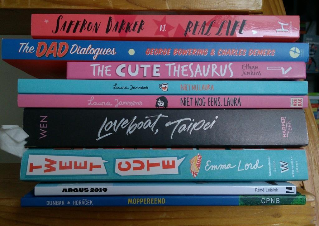 Book Haul January, Books, Stack