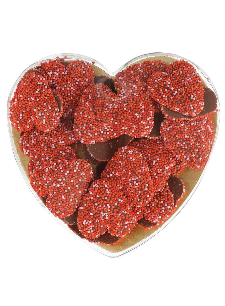 Hearts, Chocolate, Sprinkles, Yummy, Valentines Day