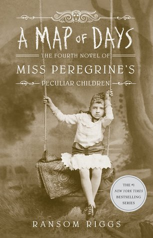 A Map of Days, Miss Peregrine's Peculiar Children, Book 4, Girl, Swing, Dress, Sepia, Young Adult, Ransom Riggs, Fantasy, Paranormal, Time Travel, Time Loop