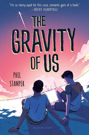The Gravity of Us, NASA, Phil Stamper, Young Adult, LGBT, Romance, Contemporary, Holding Hands, Guys