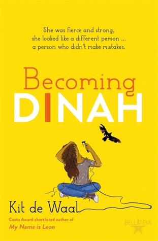 Young Adult, Road Trip, Retelling, Moby Dick, Family,Becoming Dinah, Kit de Waal, Yellow, Girl, Raven
