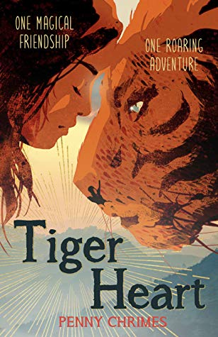 Adventure, Jungle, Mountains, Tiger Heart, Penny Chrimes, Tiger, Children's Books, Tiger, Girl,