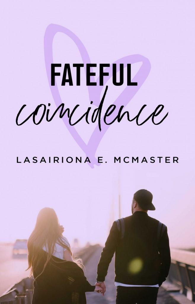 Fateful Coincidence, Lasairiona McMaster, Purple, Man, Woman, Heart, Romance
