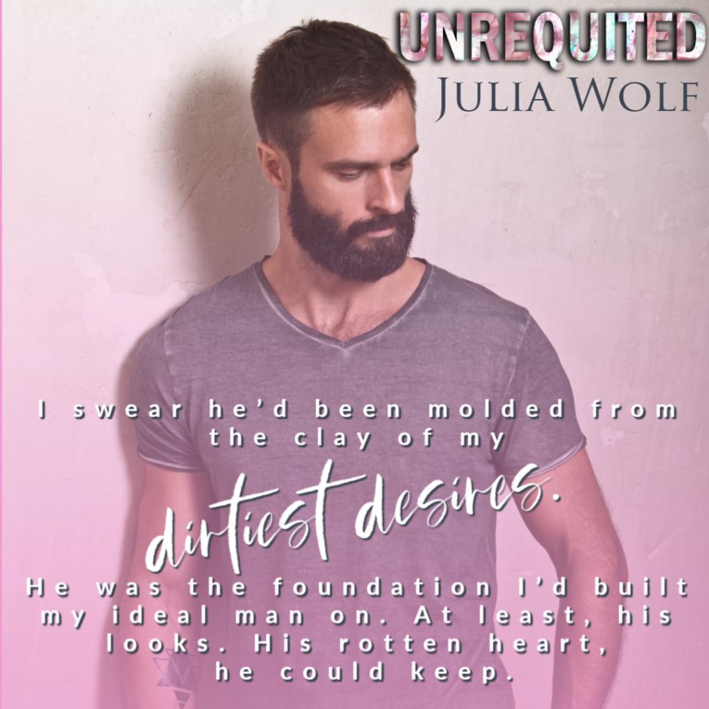 Beard, Shirt, Man, Pink, Teaser, Romance, Band, Dual POV, Unrequited, Julia Wolf