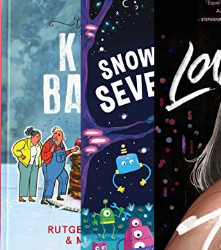 Top 10 January, Kinderbakboek, Loveboat Taipei, Snow White and the Seven Robots
