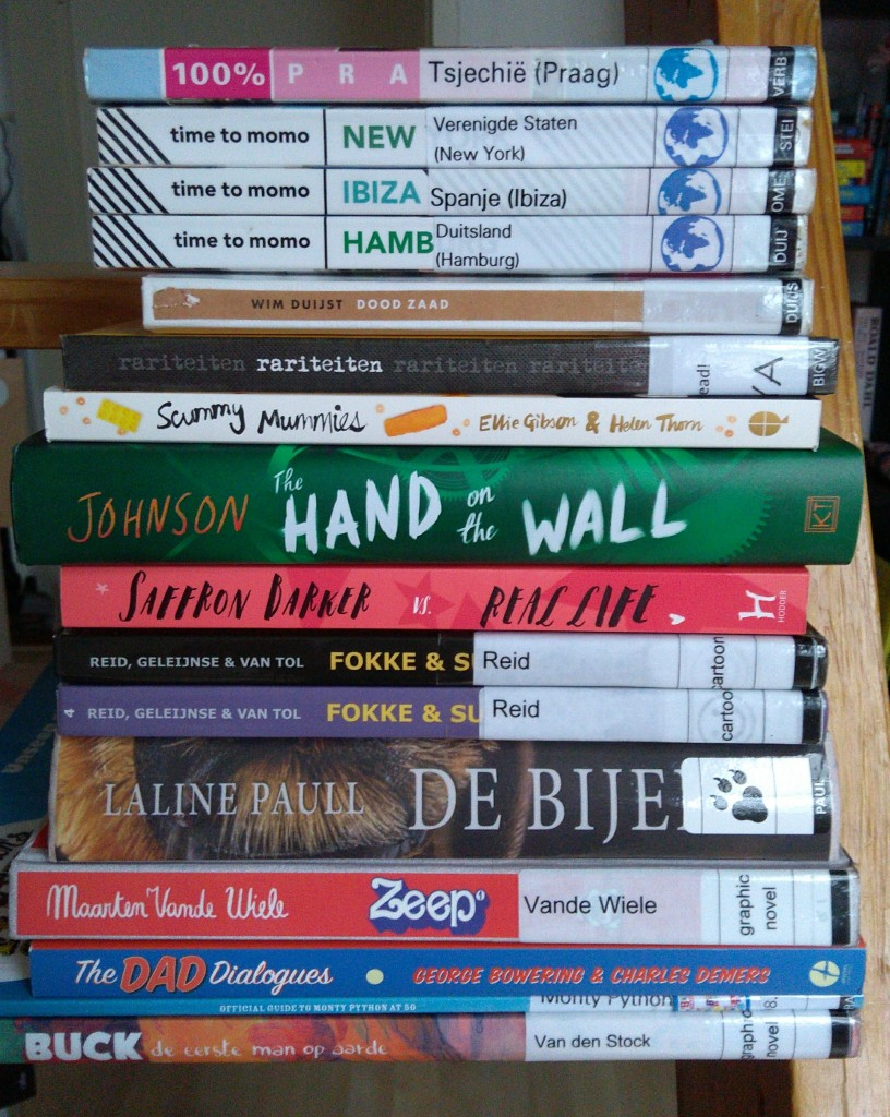 TBR, To Read, Stack of Books