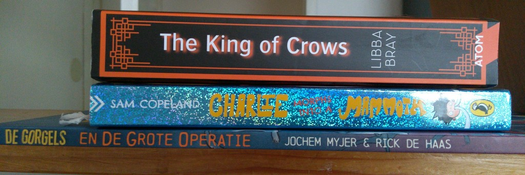 Book Haul February, Stack of Books, Gorgels, King of Crows, Children's books