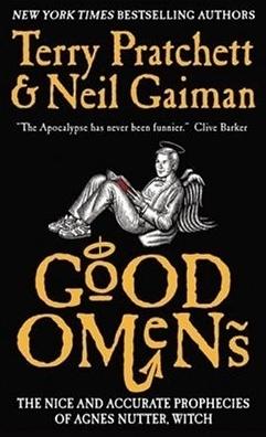 Good Omens, Terry Pratchett, Neil Gaiman, Gods, Apocalypse, Humour, Armageddon, Angel, Demons, Fantasy
