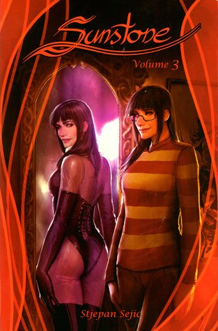 Stjepan Šejić, Red, Girl, Mirror, Two sides, Dom, Sub, BDSM, Sex, Graphic Novel, Relationships, LGBT, Romance, Friendship, Sunstone, Sunstone Vol.3,