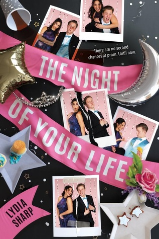 Lydia Sharp, The Night of Your Life, Young Adult, Stars, Photographs, Ribbon, Cup, Girl, Boy, Romance, Accident, Loop, Prom