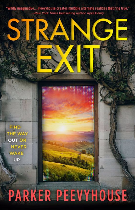 Plants, Hills, Sunset, Young Adult, Post-Apocalypse, Science Fiction, Space, Ship, Strange Exit, Parker Peevyhouse, Door,