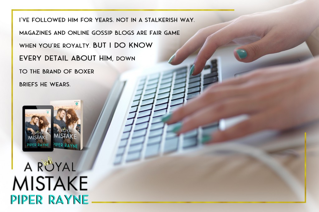 A Royal's Mistake, Piper Rayne, Man, Woman, Cute, Romance, Prince, Royalty, Orange, Candles, Wine, Wineglasses, Teaser, Tea, Flowers, Teaser, Laptop, Hands