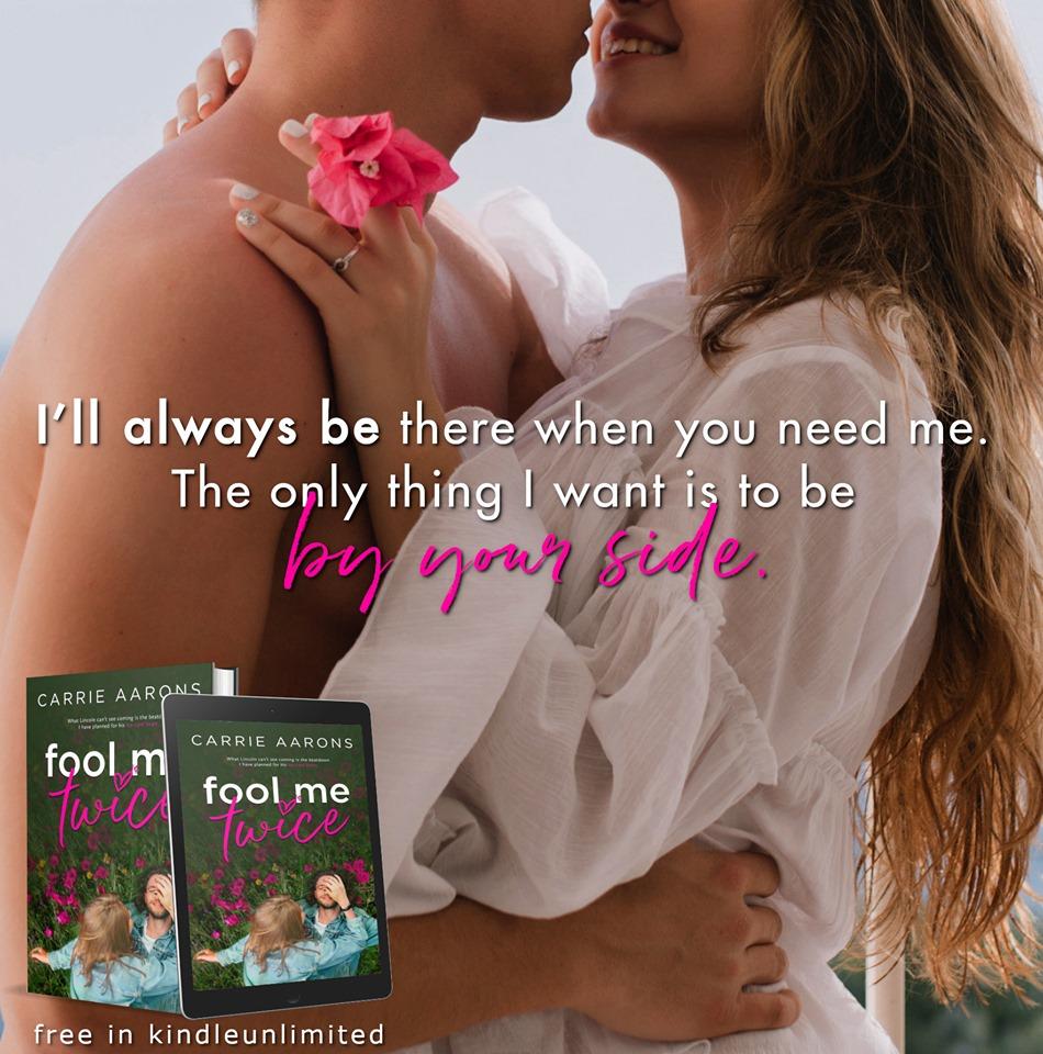 Fool Me Twice, Carrie Aarons, Flowers, Man, Woman, Grass, Green, Romance, Revenge, Bucket List, Cancer, Flower, Book Teaser