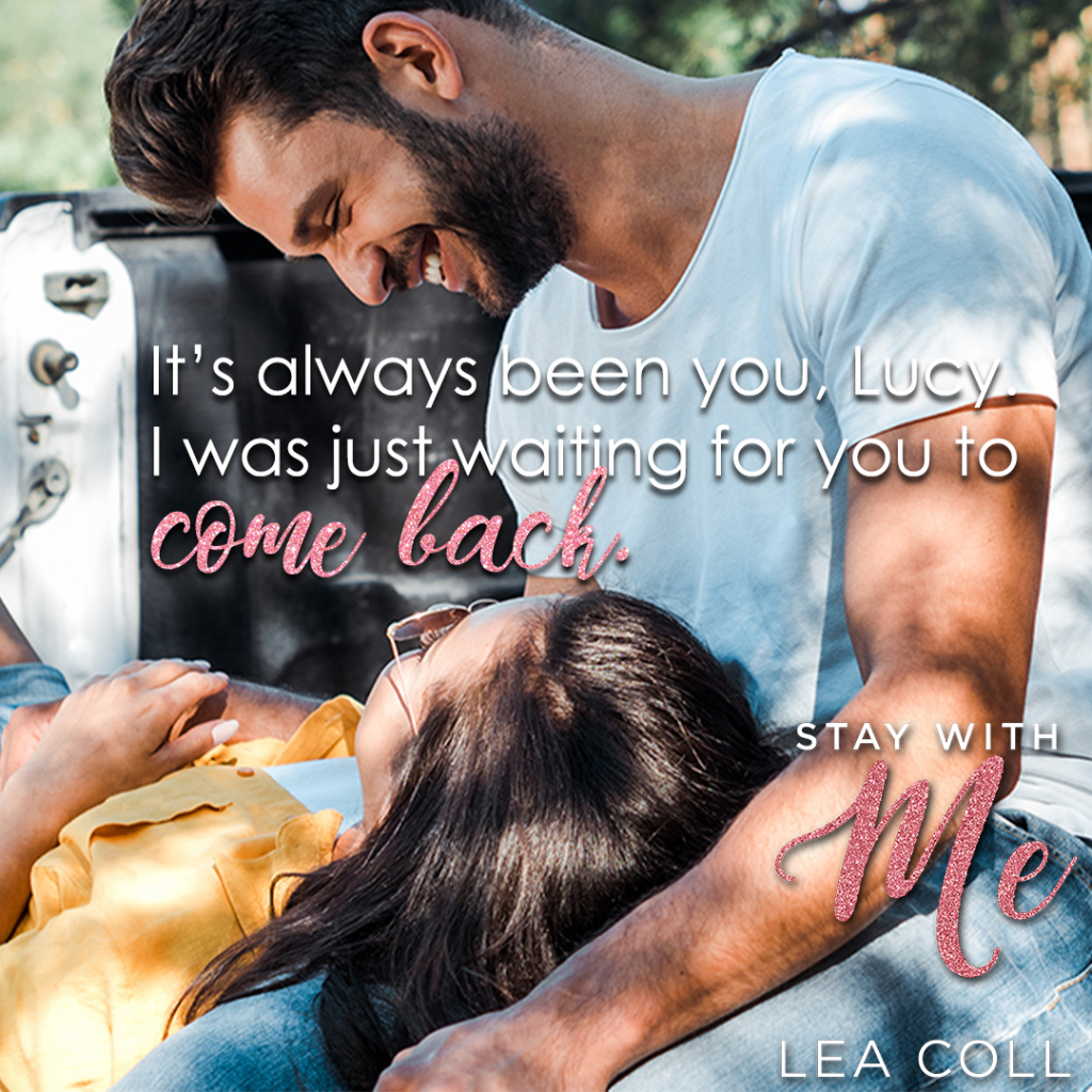 Stay with me, Lea Coll, Romance, Dual POV, Hugging, Lying on Lap, Sun, Book Teaser, Man, Woman,