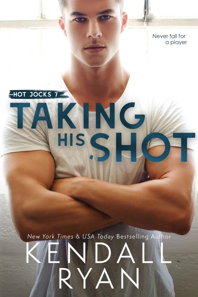 Taking His Shot, Kendall Ryan, Guy, Arms Crossed, Jock, Sports, White Shirt, Muscles, Romance