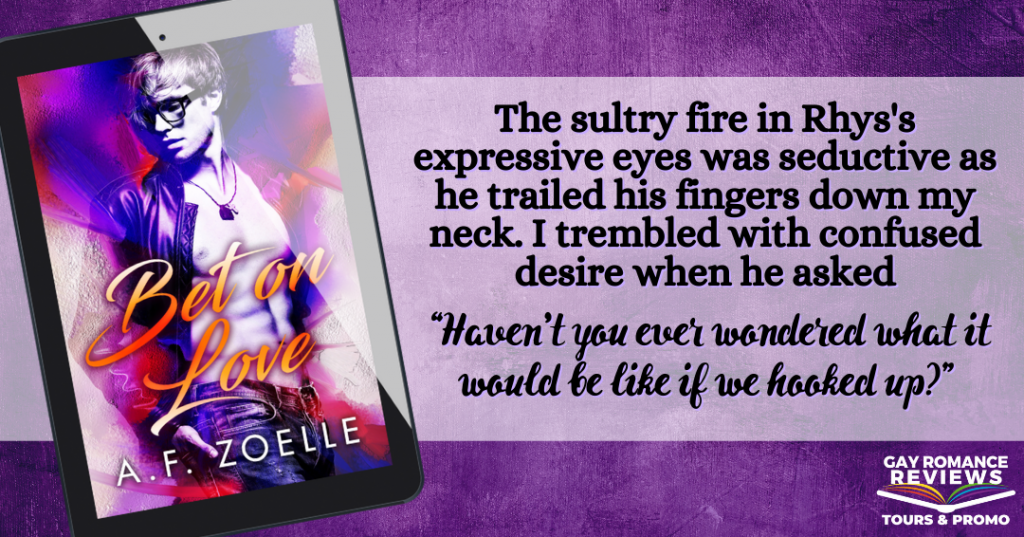Bet on Love, A.F. Zoelle, Purple, Red, Man, Torso, Bare Chest, Romance, LGBT, Cover Love, Sexy, Teaser