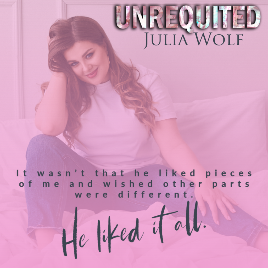 Pink, Girl, Teaser, Books, Romance, Band, Dual POV, Unrequited, Julia Wolf