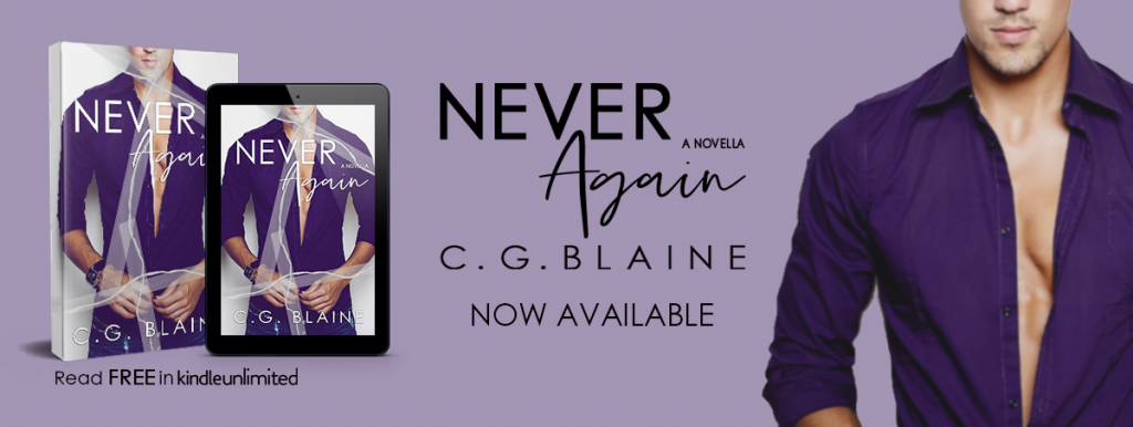 Never Again, C.G. Blaine, Blue Outfit, Ripped Photograph, Romance, Tape, Man, Watch, Dual POV