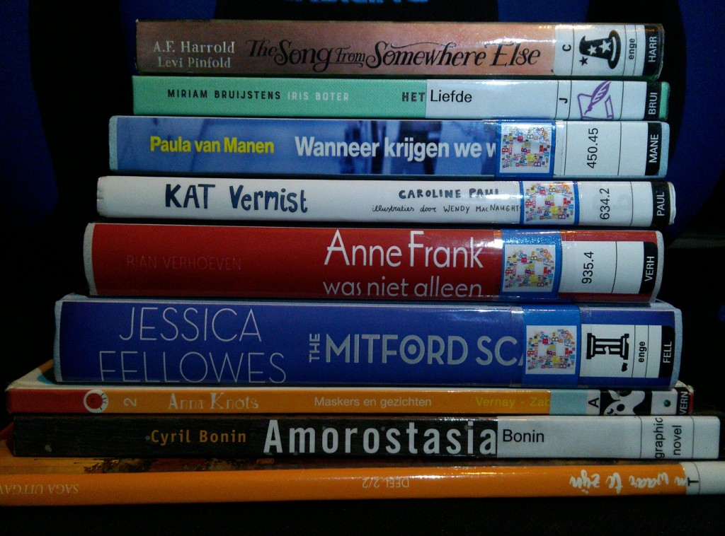 Bibliotheek Den Haag, Library #3, Stack of Books, Graphic Novel, Non-Fiction