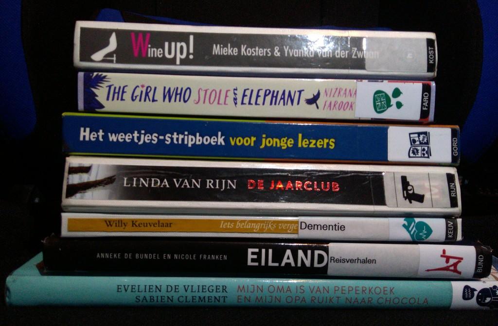 Bibliotheek Delft, Library #1, Stack of Books, Wine, Children's Books, Non-fiction, Books