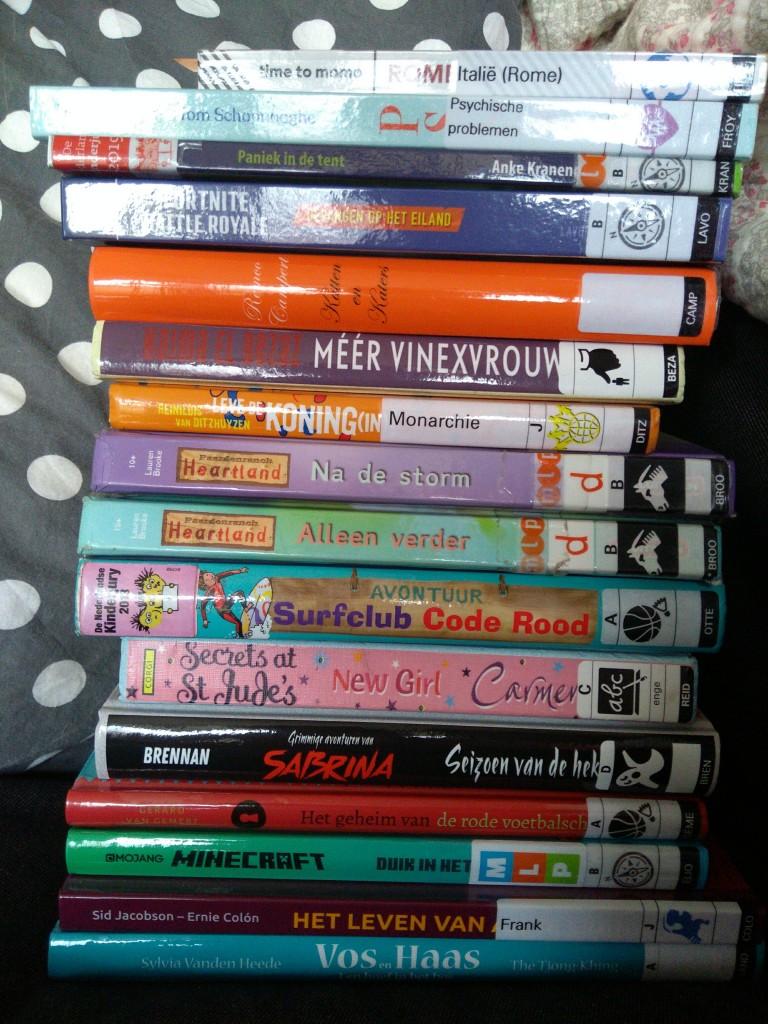 Bibliotheek Zoetermeer, Books, Library #2, Fiction, Children's Books, Minecraft, Anne Frank, Fortnite