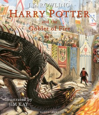 J.K. Rowling, Harry Potter and the Goblet of Fire: Illustrated Edition, Dragon, Harry Potter, Audience, Colourful, Fantasy, Boarding School, Wizards, Witches, Young Adult, Villain, Magic, Friendship, Competition, Harry Potter, Voldemort, Goblet of Fire