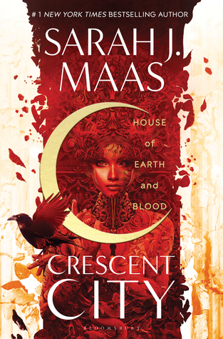 Fallen Angel, Dual POV, House of Earth and Blood, Crescent City, Sarah J. Maas, Red, Girl, Moon, Bird, Fantasy, New Adult, Romance, Demon, Friendship,