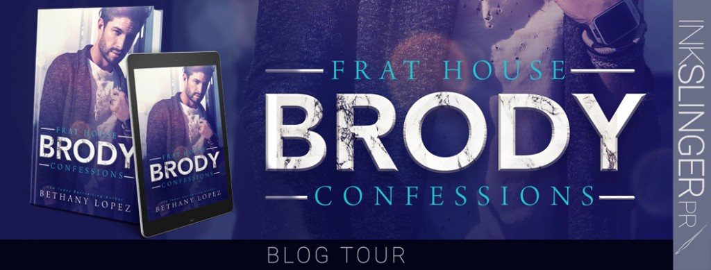 Banner, Frat House Confessions, Frat House Confessions: Brody, Purple, Men, Book Cover, Romance, Dual POV, College/University
