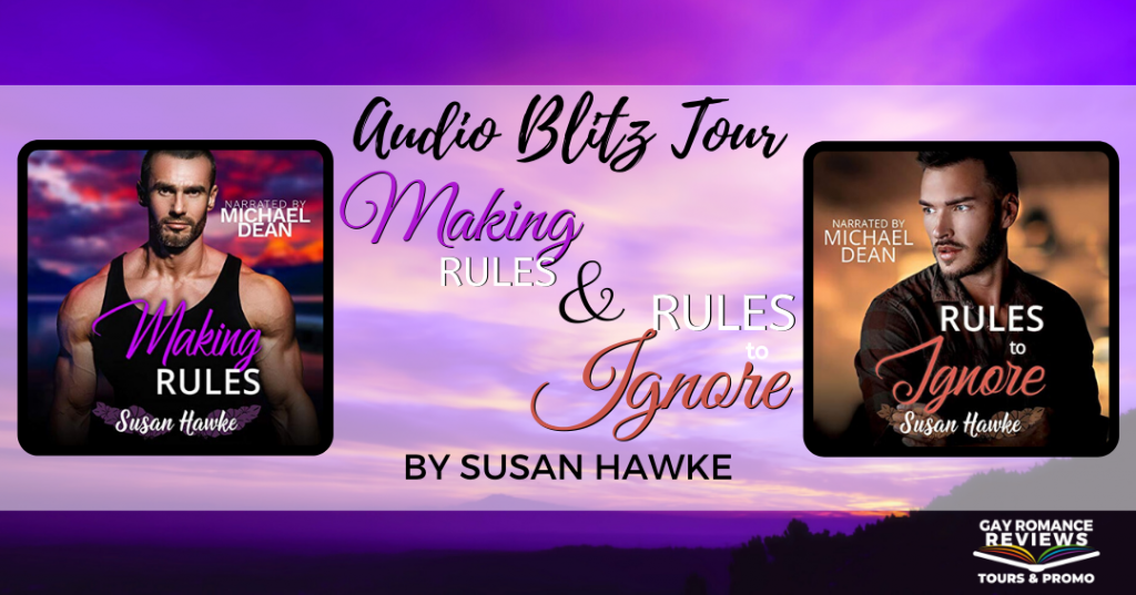 Romance, Audiobook, Banner, Purple, Susan Hawke, Rules to Ignore, Making Rules, Men,