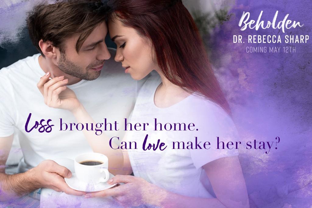 Purple, Woman, Romance, Adult, Coffee Shop, Clouds, Beholden, Rebecca Sharp, Man