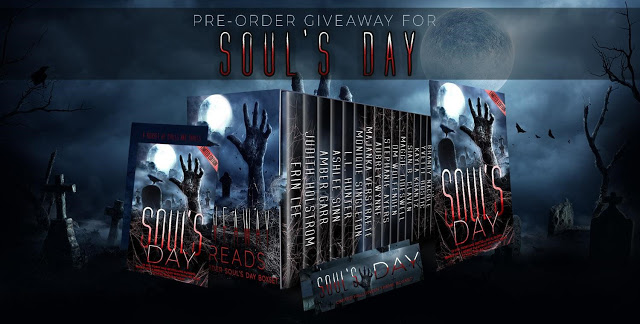 Soul's Day, Banner, Pre-order Now, Pre-order Giveaway,Reads, Horror, Reading, Books