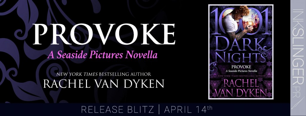 Provoke, Purple, 1001 Nights, Rachel van Dyken, Romance, Bands, Music, Famous, Banner
