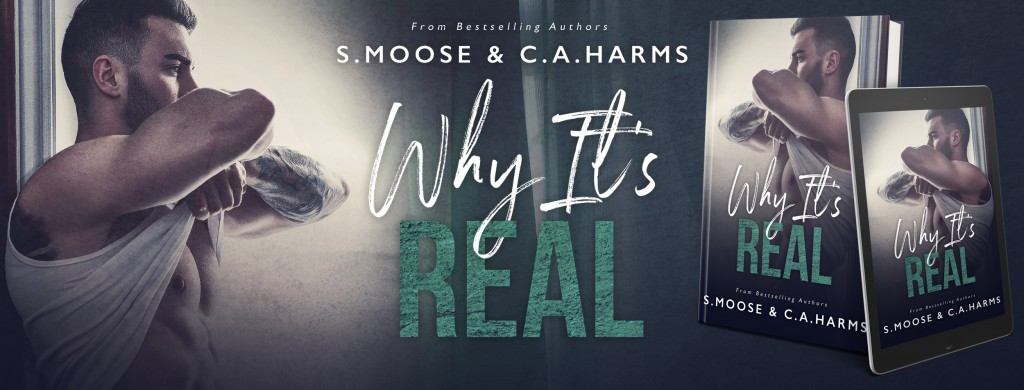Why It's Real, Banner, Guy, Arms, Romance, Dual POV, Contemporary