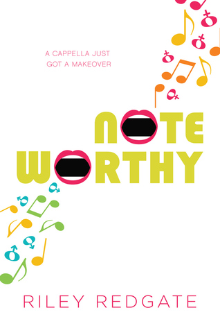 Noteworthy, LGBT, Young Adult, Music, Notes, Lips, Riley Redgate,