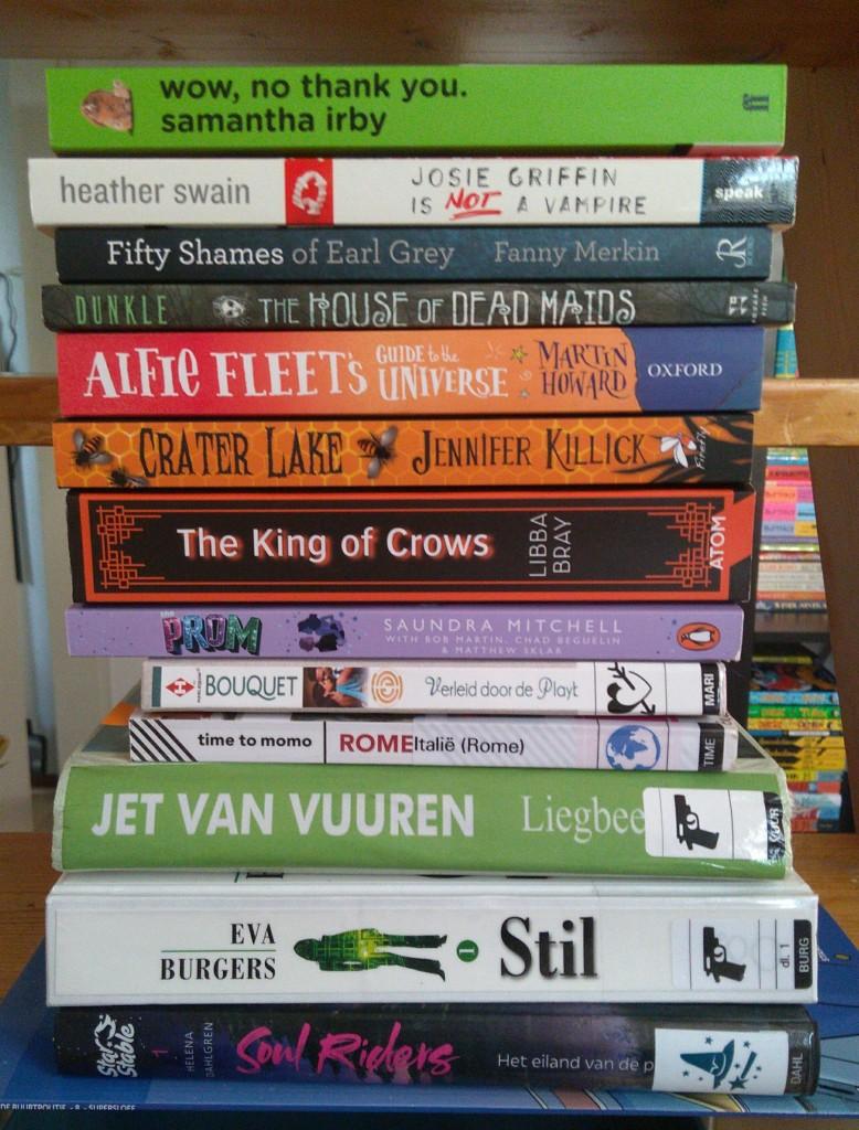 TBR, Library, Books, Reading, Stack of Books, Stil, Thrillers, Horses,