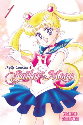 Naoko Takeuchi, Pretty Guardian Sailor Moon, Vol. 1, Magical Girl, Sailor Moon, Fantasy, Villains, Battles, Mystery, Secrets, Transformations, Cute, Fun, Blonde Hair, Sailor Outfit, Manga, Romance, Cover Love, Friendship, Cats
