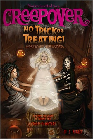 Book #9, Friendship, Moving, New Kid, Romance, Creepy, P.J. Night, Light as a Feather, Girls, Costumes, Trick or Treat, Halloween, Horror, Candles, You're Invited to a Creepover,