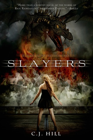 Slayers, C.J. Hill, Dragons, Girl, Dress, Clouds, Summer, Summer Camp, Camp, Young Adult, Fantasy, Paranormal, Romance